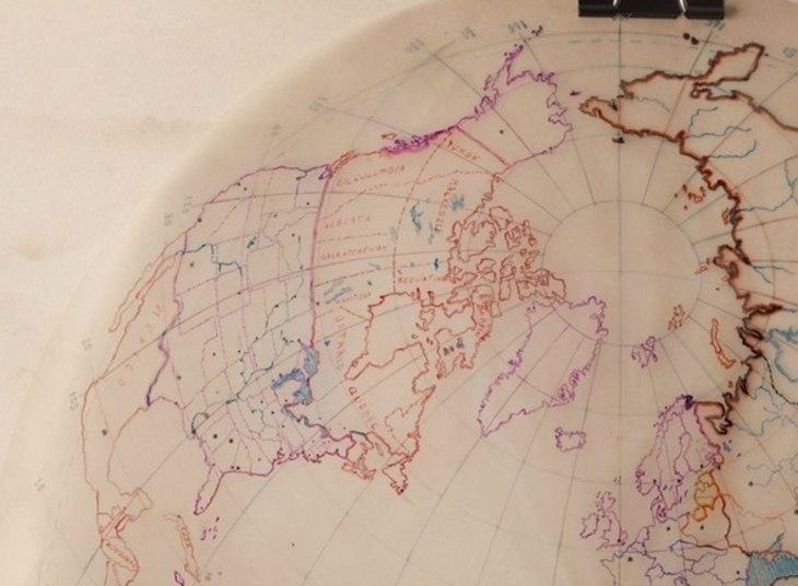 Será que as marcações indicam lugares invadidos por extraterrestres?