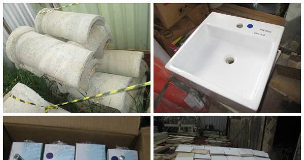 Economize na obra: Leilão possui cubas em inox por R$ 60 e caixa ...