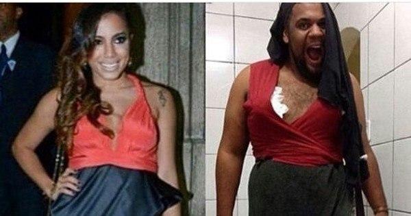 Anitta passou perrengue com vestido antes de casamento de Preta Gil