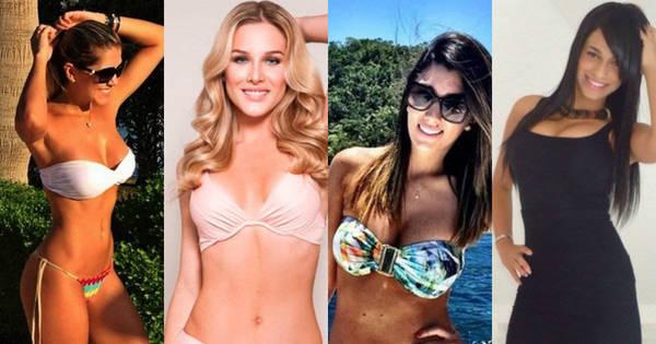 25 mulheres de jogadores brasileiros que fazem você sentir muita ...