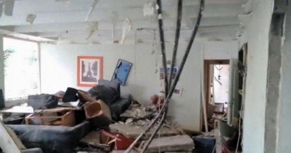 Moradores têm 10 minutos para retirar objetos de prédio que ...