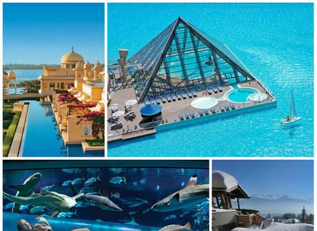 Veja quanto custa mergulhar nas piscinas mais luxuosas do mundo