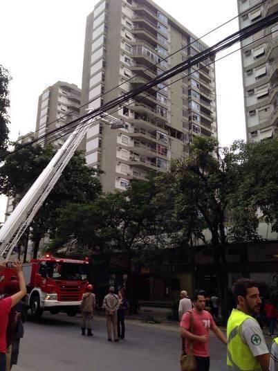 Segundo os bombeiros, a explosão ocorreu por volta das 5h40. Uma moradora de um prédio vizinho disse ao R7 que o barulho foi muito alto e parecia alguma detonação na obra do metrô, que fica em frente ao prédio
