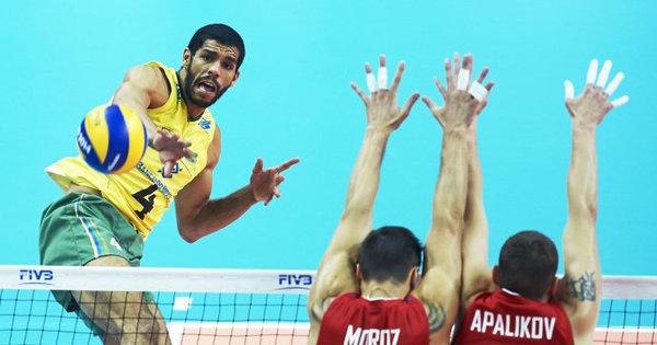 De olho no ouro olímpico, jogador da seleção de vôlei supera ...