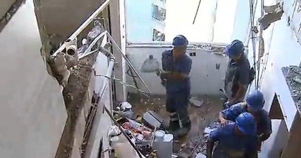 Veja imagens do interior do apartamento que explodiu na zona sul ...