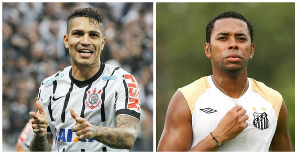 Corinthians sem Guerrero ou Santos sem Robinho?