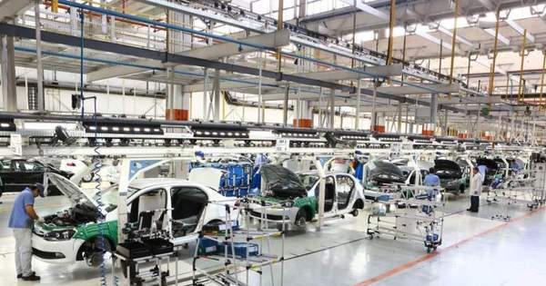 Produção de veículos no Brasil cai 20,4% e registra 1,2 milhão de ...