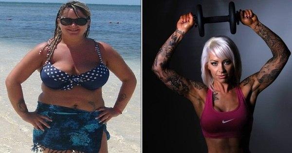 Ex- obesa perde quase 40 kg para seu casamento após ser criticada ...