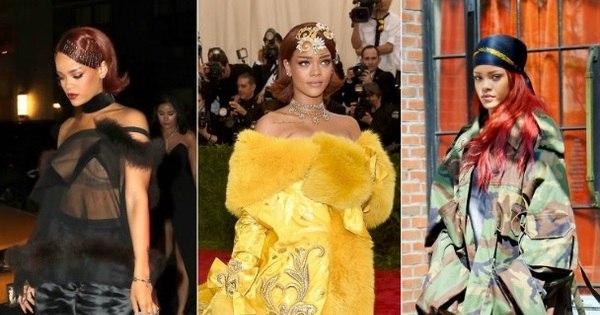 50 imagens que provam que Rihanna adora provocar com suas ...
