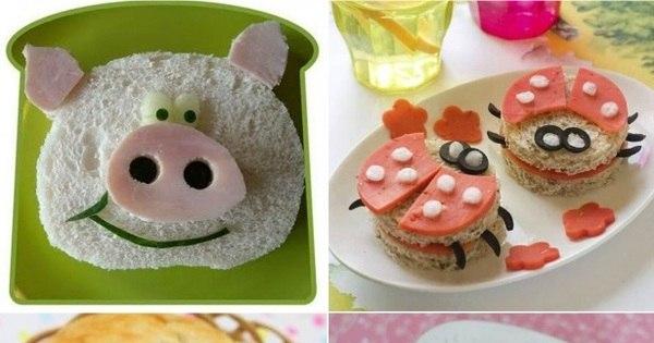 Veja dez ideias para deixar a hora da refeição das crianças muito ...