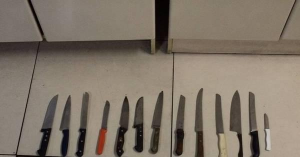 Em tramitação há 11 anos, projeto de lei criminaliza porte de facas ...