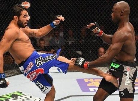 Confira as imagens da noite de grandes lutas no UFC 187