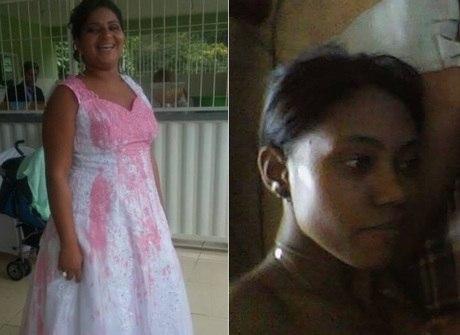 Mulher que atacou noiva com tinta diz ter sido abandonada pelo ex