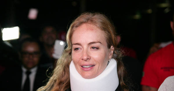 Angélica deixa o hospital chorando ao lado de Luciano Huck - Fotos ...