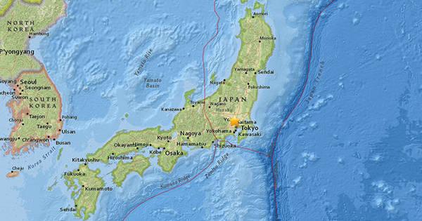 Terremoto de 5,6 graus na escala Richter balança Tóquio - Notícias ...