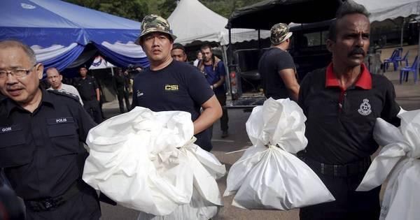 Malásia encontra 139 corpos de imigrantes em túmulos clandestinos