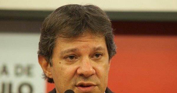 Fernando Haddad, prefeito de São Paulo, diz que fica no PT 'com ...