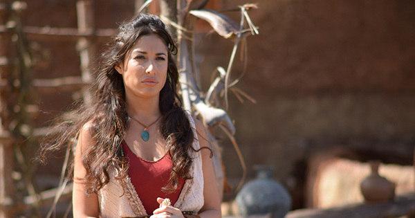 """Giselle Itié fala de Zípora, futura mulher de Moisés: """"Ela é livre e ..."""