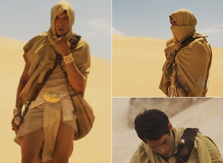Imagens deslumbrantes! Veja fotos da saga de Moisés pelo deserto