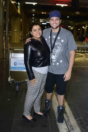 Jogador de basquete e personal trainer, Rodrigo Godoy, marido da cantora Preta Gil, trocou alianças com a cantora recentemente. O moço é 15 anos mais novo que Preta
