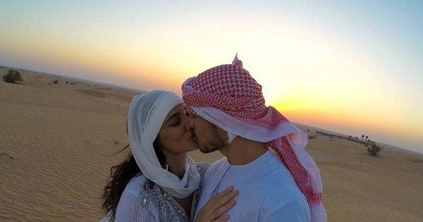 Débora Nascimento e José Loreto se casam em Abu Dhabi ...