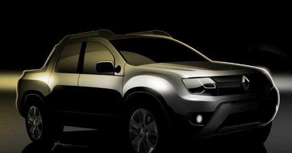 Renault Oroch, a picape do Duster, aparece em teasers - Fotos - R7 ...