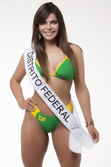 O bumbum de Suzy Cortez, representante do Distrito Federal, pode ser o mais bonito do Brasil