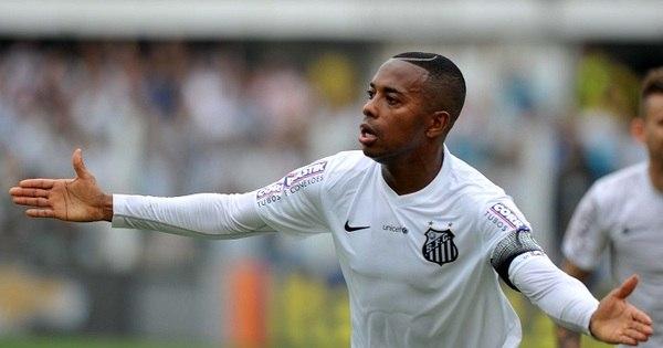 Título da Copa do Brasil pode trazer Robinho de volta ao Santos ...