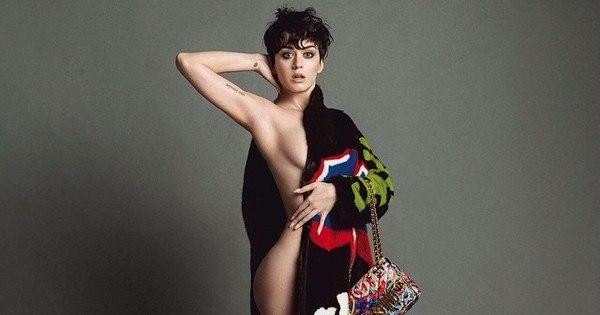 Katy Perry aparece nua em foto para divulgar campanha ...