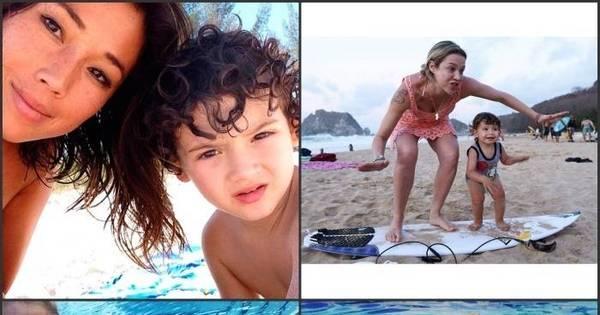 Filhos de famosos atacam de surfistas mirins e deixam fãs morrendo ...