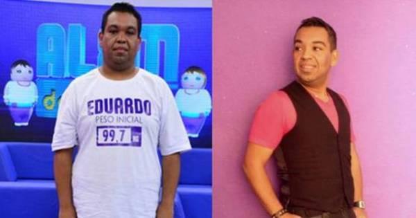 Vencedor do primeiro Além do Peso, Eduardo Silva emagreceu ...