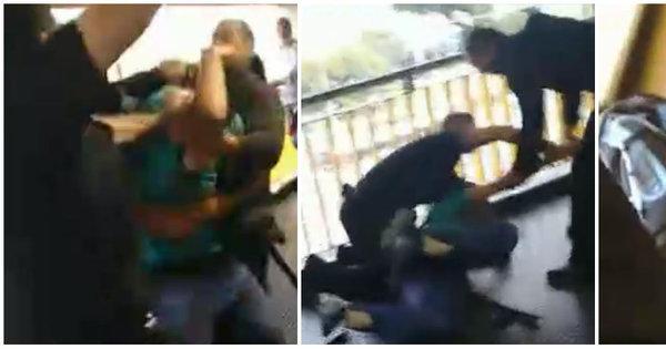 Passageiro é agredido por seguranças do Metrô - Notícias - R7 São ...
