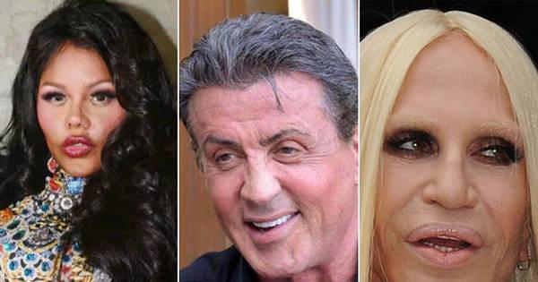 Celebridades apostam em exageros e enfrentam transformações ...