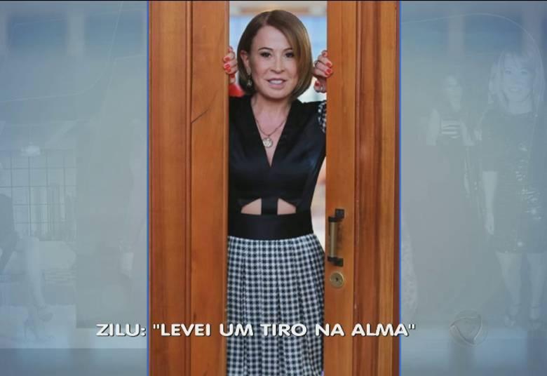 Zilu deu uma declaração polêmica. A apresentadora disse que levou um 'tiro na alma' quando descobriu que era traída por Zezé Di Camargo+ Ex-namorado de Bárbara Evans é flagrado com transexual. Veja as fofocas da Hora da Venenosa!