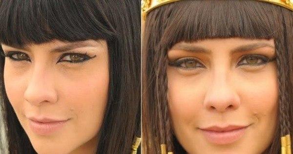 Veja o que muda na maquiagem de Nefertari quando se tornar rainha