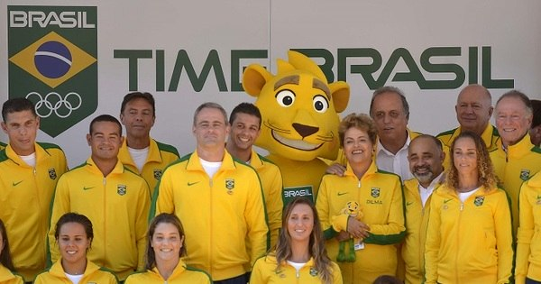 Com Dilma presente, COB apresenta onça-pintada como mascote ...