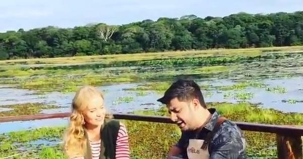 Antes de acidente de avião, Angélica gravou com Cristiano Araújo ...