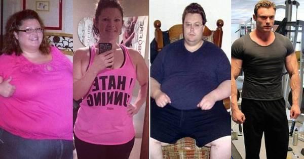 Eles eliminaram mais de 1.000 kg! Veja 13 histórias de superação ...