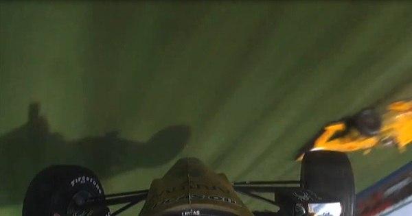 Carro levanta voo na Fórmula Indy e causa acidente impressionante ...