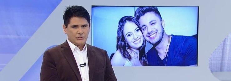 Cesar Filho se emociona ao falar da entrevista com os pais de Allana