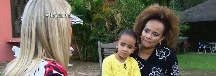 Luciana Mello conta como falou da morte de Jair Rodrigues para a filha<br />