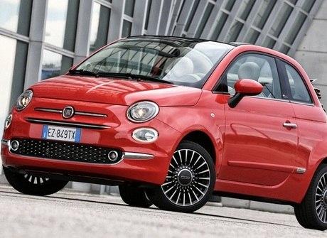 Novo Fiat 500 chega à Europa<br />mais seguro e tecnológico