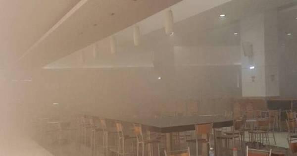 Princípio de incêndio causa tumulto em Shopping de Natal ...