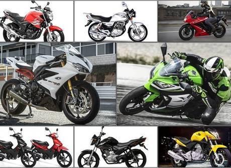 Veja quais foram os 20 modelos de motos mais vendidos no semestre