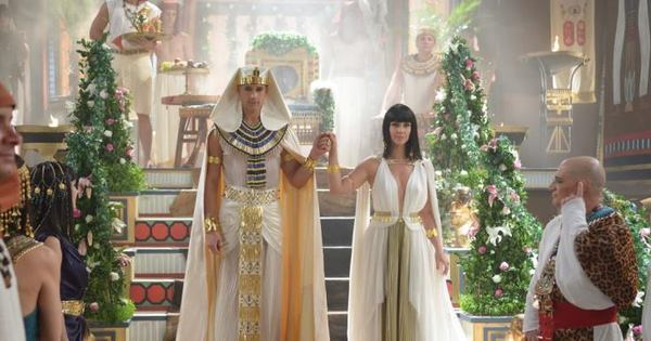 Babou pela roupa de casamento de Nefertari e Ramsés? Figurinista ...