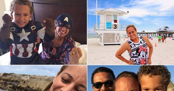 Só alegria: Renata Alves aproveita as férias e curte com a família ...