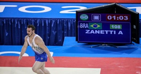 Com Zanetti inspirado, Brasil fica com a prata na ginástica artística ...
