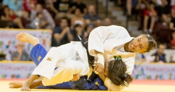 Judô dá ouro, prata e bronze para o Brasil - Rede record - R7 Pan ...