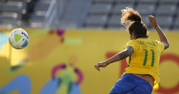 Em noite de Cristiane, Brasil faz 7 a 1 no Equador - Rede record ...