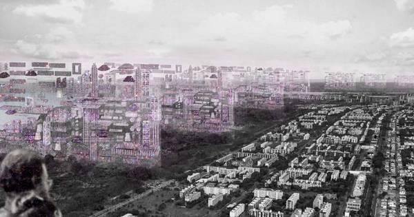 Arquiteta projeta como seria a vida em Brasília com teletransporte ...